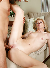 Anilos Dee Dee fucks a rock hard cock with superb skill and grace