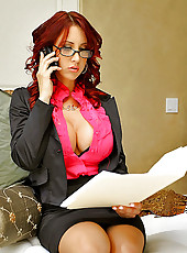 Milf in Glasses
