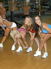 Hot milfs get crazy after they go to the gym and work out