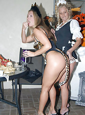 Hot milfs hot holloween sex parties cum watch these horny milfs get freaky