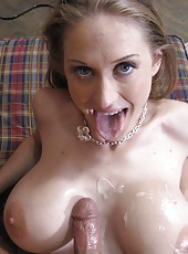 Come see my horny sexy wife suck my cock then get her hot pussy fucked hard by me