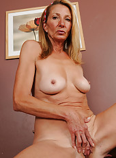56 year old housewife Pam from AllOver30 shows off her tight body
