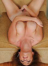 Horny Tamara Fox spreads her legs wide for all of the world to see