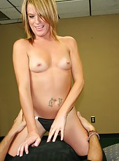 Milf Stripper Handjob with Kylie