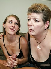 Pam and Kaci see momsuck