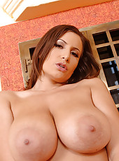 Sensual Jane shows you her big tits