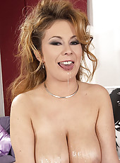 Constance Devil gets titty fucked