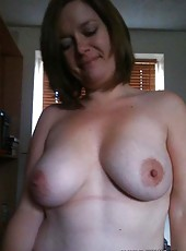 Kinky amateur MILFs being a tease