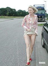 Kinky German MILF doing nasty stuff