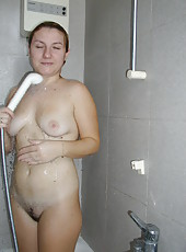 Naked MILF on vaction