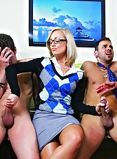 2 super hot fucking big ass milfs share their hot asses in these office fucking pics