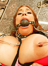 MILF hottied gets tied up and fucked in anus!
