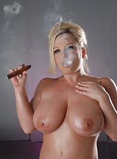 Cigar and Dildo