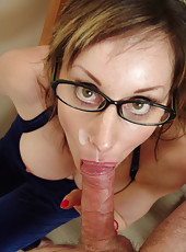 Mature in Glasses
