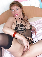 Mature in Lingerie