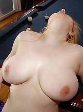 Check out this voluptuous hottie get nailed while her awesome jugs bounce   all around