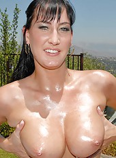 Hot jrae gets hot and steamy watch her big natural titties get fucked in this pool bikini action