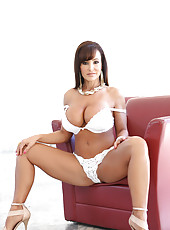 Big titty Lisa Ann wins a cock at chess.