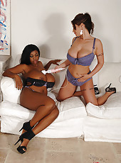 Busty Lesbians Work The Magic Wand