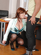 Hot Teacher Tempts With Her 36DDDs