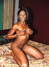 Desire is a cock starved black babe who loves to fuck