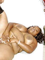 Ebony BBW Tanggi Has Her Crack Creamed