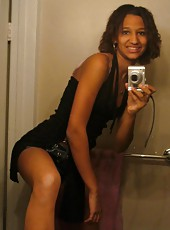 Amateur sexy kinky black college hottie