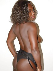Photo selection of a hot black amateur girlfriend