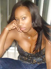 Picture collection of a group of kinky black hotties