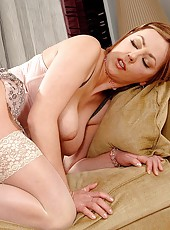 Katalin in all orifice sex action
