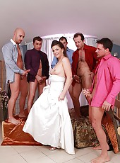New bride blows all her groomsmen!