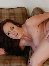 Busty MILF has hot sex with younger cock and loves riding it over and over again.