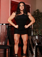 Welcome the strong and powerful Ripped Vixen! She shows off her extremely hot, healthy and muscular body paying special attention to her biceps, triceps and back.