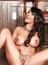 Sexy busty pornstar, Priya Rai, loves getting dolled up and getting you turned on. Of course, then she takes it all off and gives you what you want.