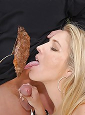 Amazing long leg mini skirt milf looking for a foot long hot dog gets her box stuffed with a huge dong in these hot reality porn pics and 3 minute video