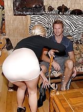 Sexy mini skirt milf fucks her customer in these clothing shoppe backroom fuck bangs