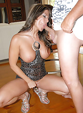 Hot leg hot ass round tits milf gets picked up on a race bike then rammed up her amazing pussy hot pics