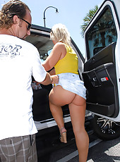 Smoking hot long leg hot ass yellow undie milf gets her hot box drilled by the milf hunter in these hot reality fuck pics