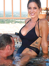 Milfs at Pool