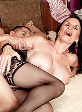 The Most-fucked Milf At 60plusmilfs.com Fucks Again!
