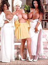 Tawny, Sarenna, Lisa And Angelique In The Bahamas, 1994