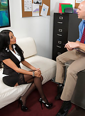 Anissa Kate has no idea how to work anything but a big cock.