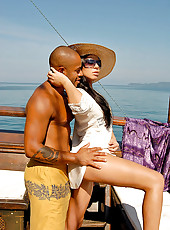 Check out these hot pics of brazilian bikini babe get nailed on a sailboat in these hot big dong fucking update