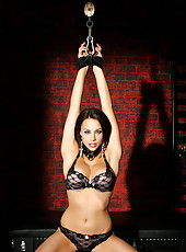 Chanel Preston tied up and teased