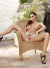 Chanel Preston bikini strip