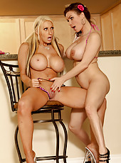 Diamond Foxxx and Candy Manson