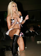 Gina Lynn horny and nude