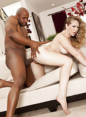 Kagney Linn Karter does interracial