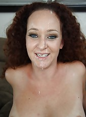 Sexy milf Kitty Caulfield fucked hard by big black cock
