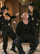 Hardcore threesome fuck with Jayden Jaymes and Jenna Presley